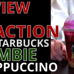 WATCH: Starbucks ZOMBIE Frappuccino Review and Reaction, It's Confusing