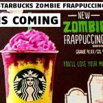 It's Official: Starbucks Zombie Frappuccino Coming October 26th