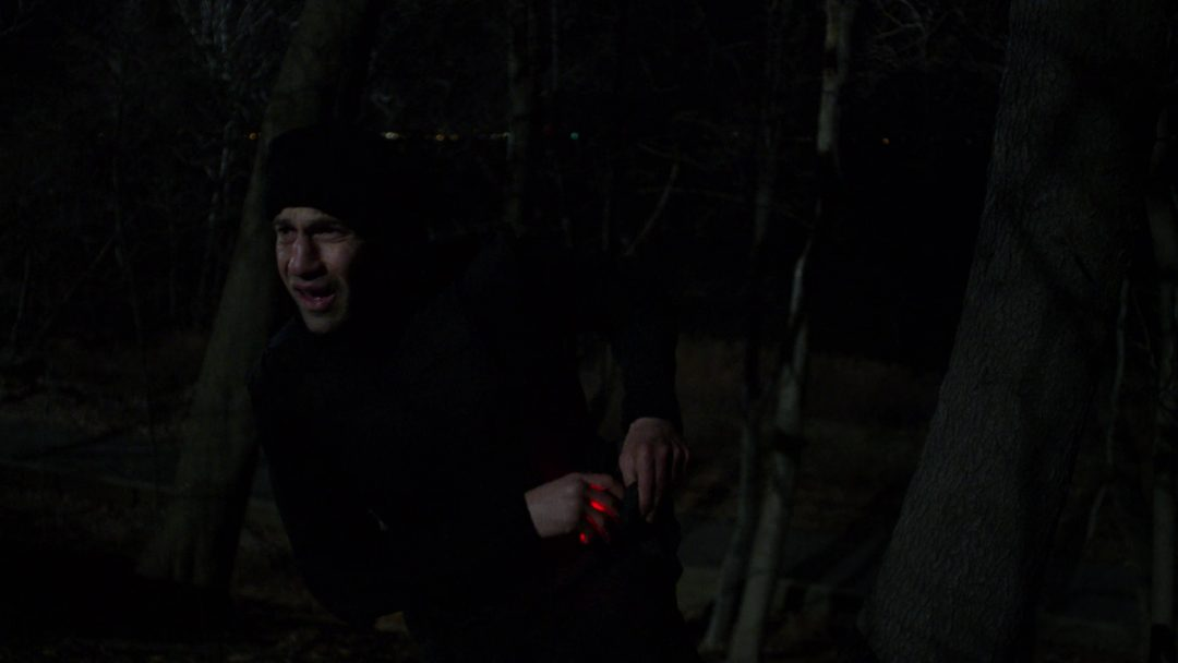 (10) The Punisher begins his operation to get to Bennett