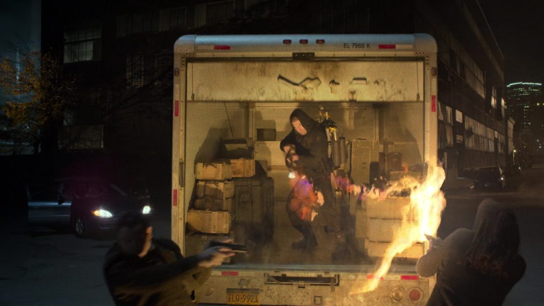 23 - The Punisher hijacks the weapons truck
