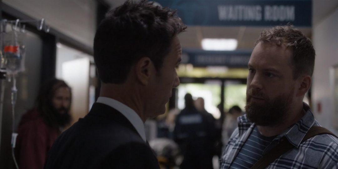 27 - Grant bumps into David at the hospital