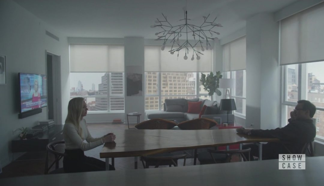 34 - Angela and Mr. Robot in a very nice apartment