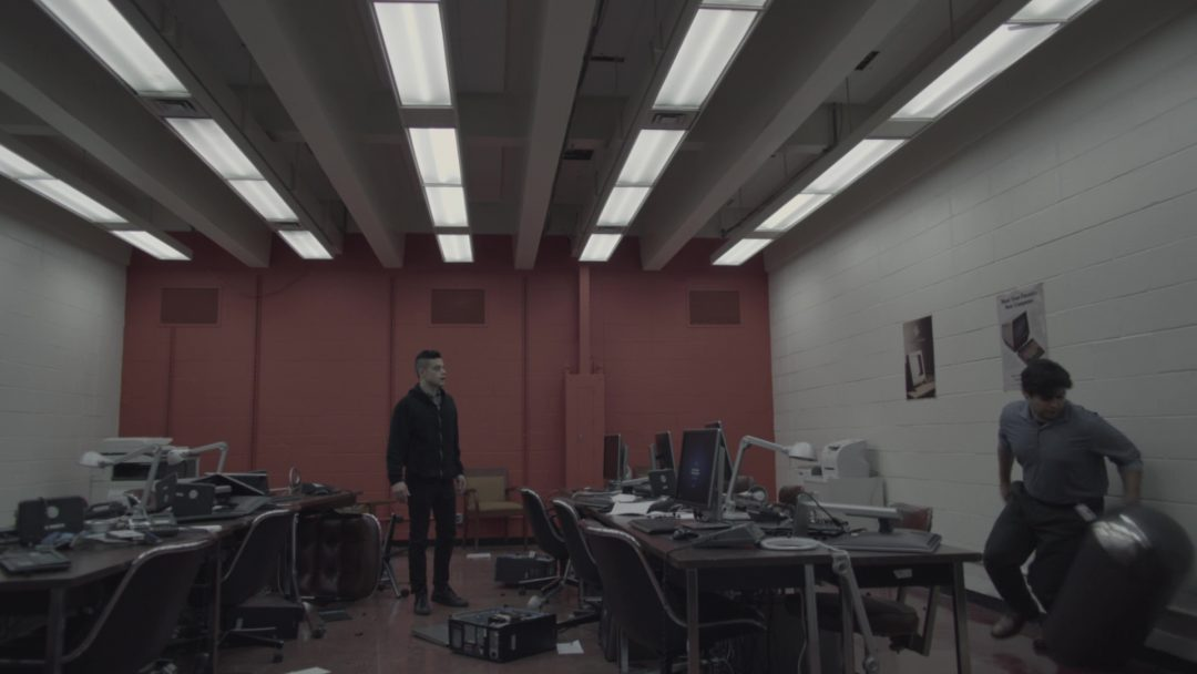 36 - Elliot awakening from a Mr. Robot glitch - 'Guess he didn't like my note'