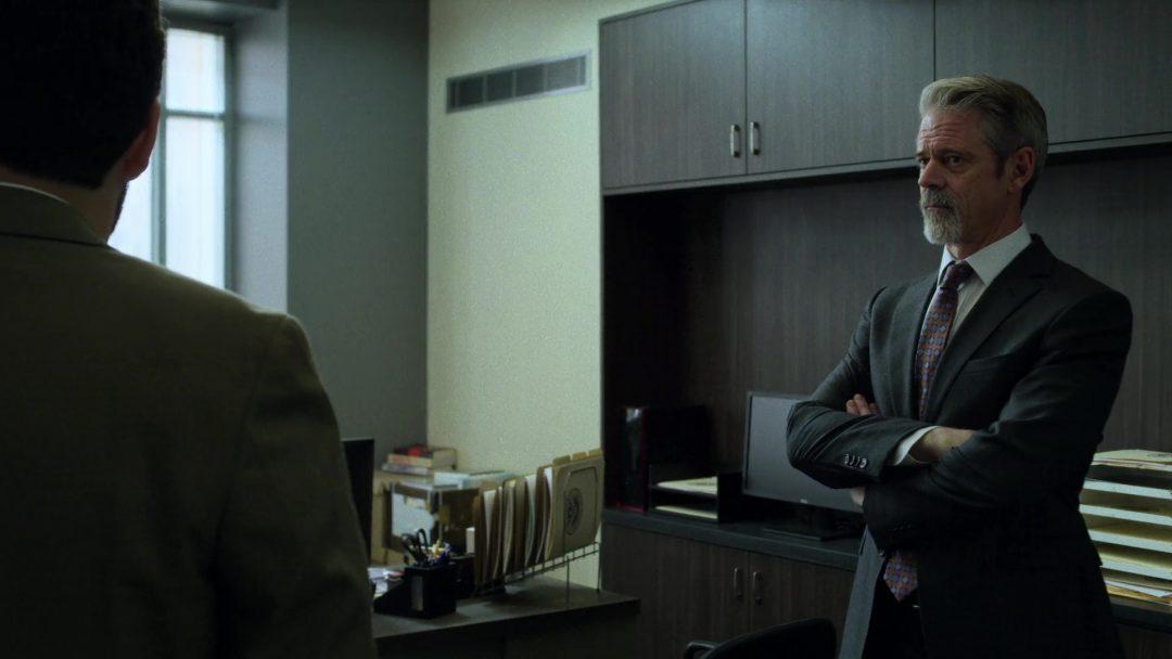 Carson Wolf, Dinah's new boss