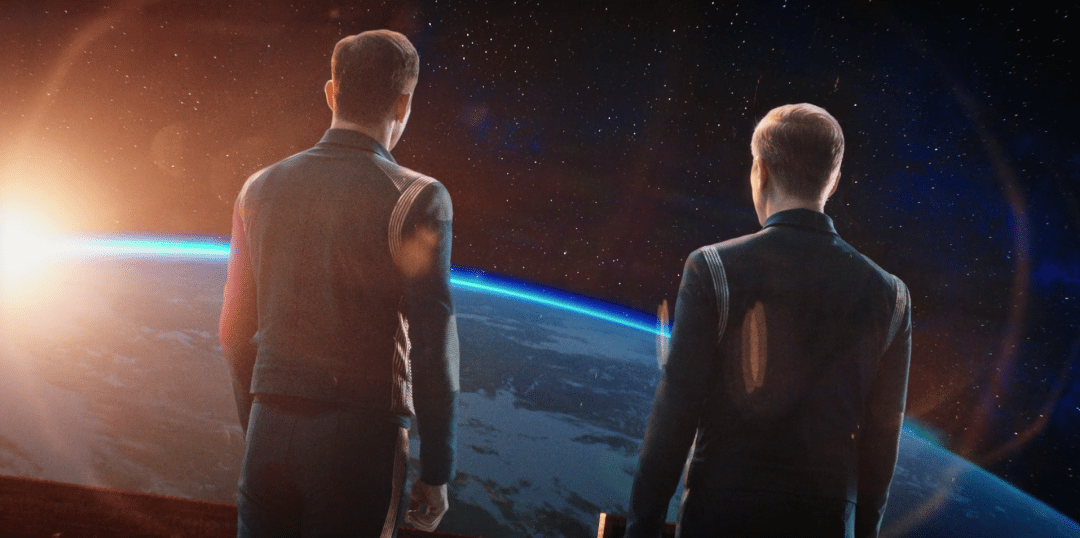 Lorca pretends to care about Stamets, unsuccessfully
