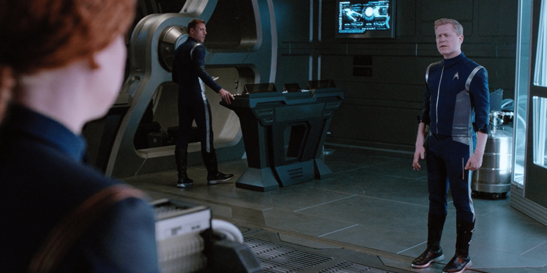 Stamets thinks Tilly is the captain