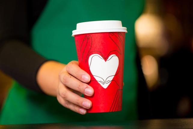 Surprise! Starbucks Releases a Second Holiday 2017 Red Cup Design For a Very Limited Time