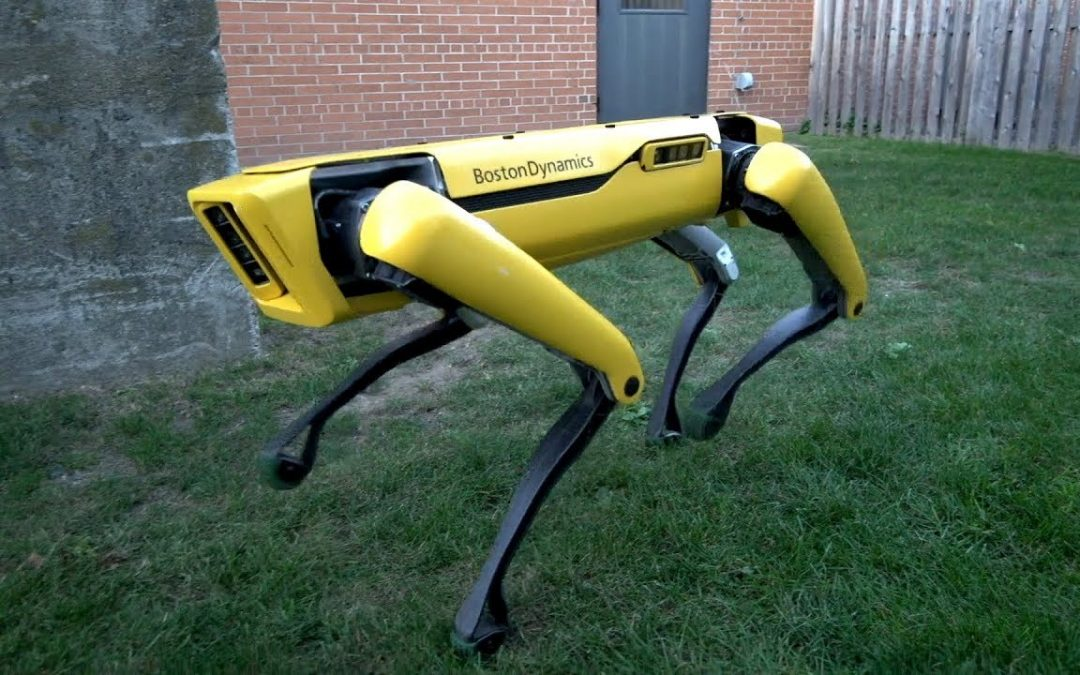 Creators of the Most Hilariously Creepy Robots Ever, Boston Dynamics, Have a New Video