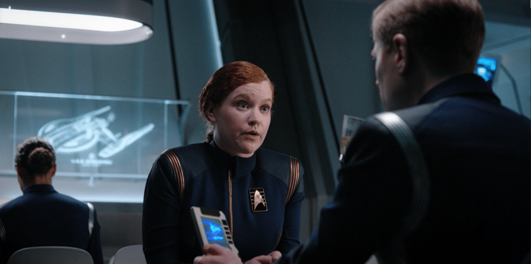 Tilly tries to help Stamets