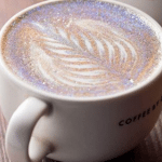 Starbucks Needs to Get on This: The Glittery Cappuccino