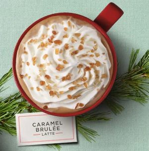 Starbucks Caramel Brulée Latte Review: A Pretty Good, Darker Caramel, Experience