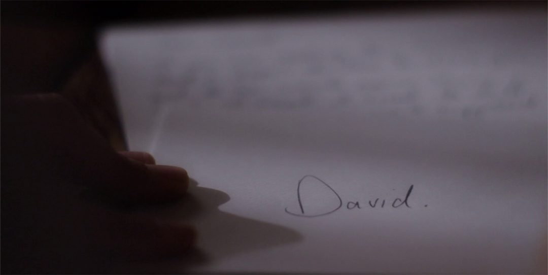 1 - Marcy finishes her letter to David