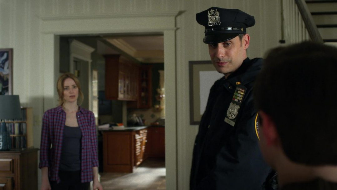 (12) A fake cop shows up at Sarah's house