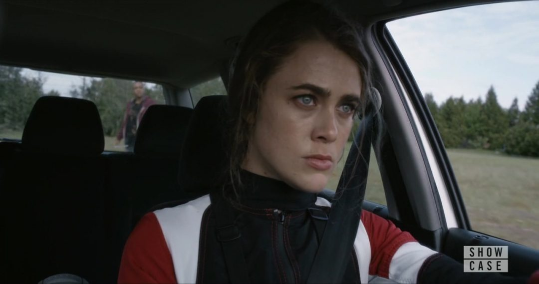 13 - Carrie, stealing Lars' car the first time