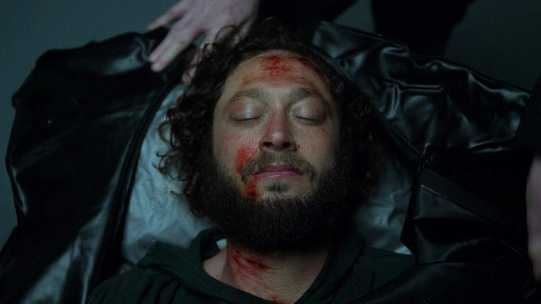 (15) David's body bag is opened