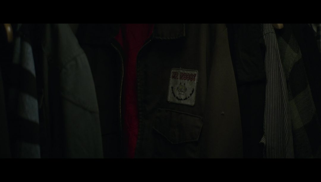 16 - The Mr. Robot jacket - in Elliot's closet this whole time