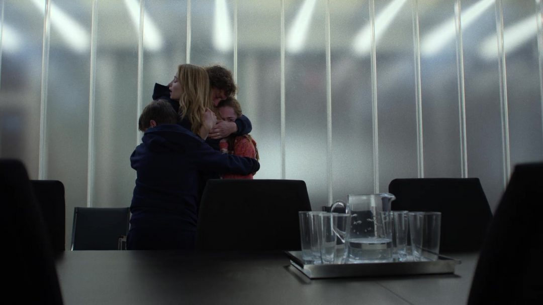 (17) David finally is reunited with his family