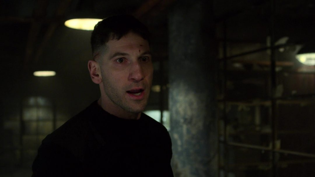 (18) The Punisher realizes Russo will be sending men to kill him and David