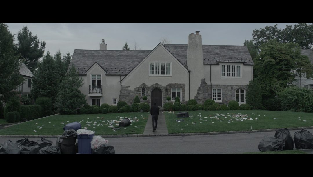 19 - Elliot approaching Sandesh's house