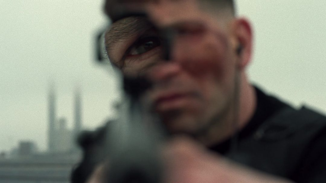 (19) The Punisher won't let Russo out of the apartment alive unless he promises to not kill Curtis