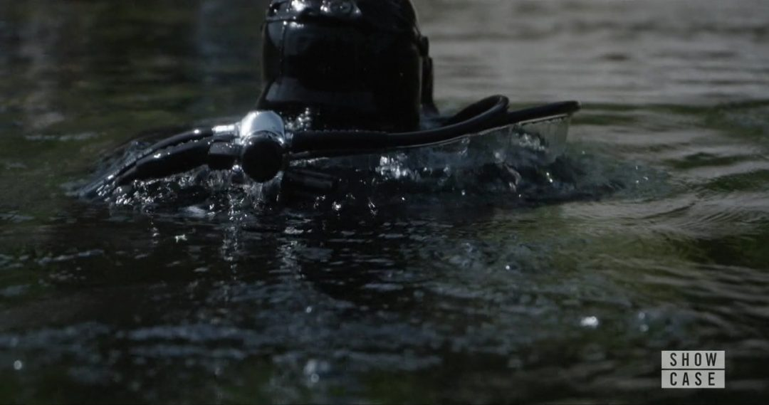 23 - The scuba-men shoot the Team again