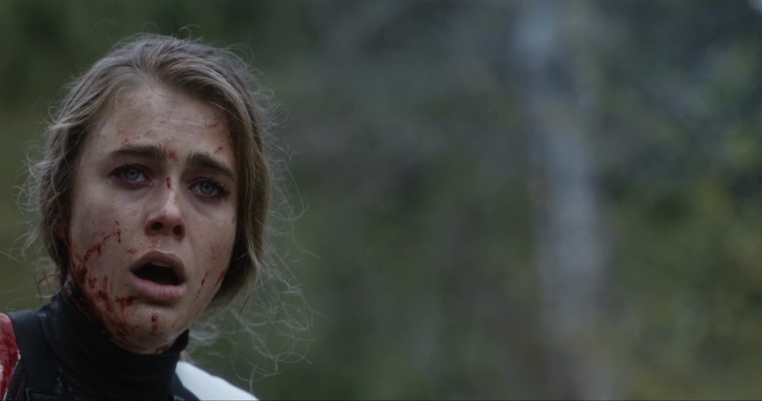24 - Carrie watches, horrified, at the Team is killed in front of her