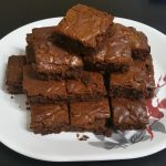 Recipe of the Day: My no-fail Nutella brownies. Simple, moist and delicious.