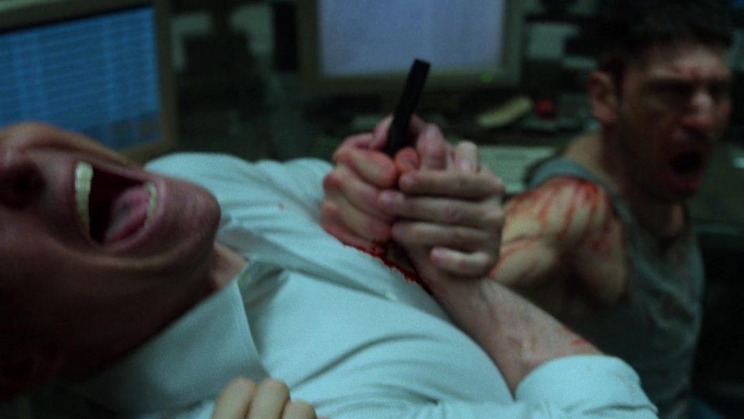 (25) Frank stabs Rawlins