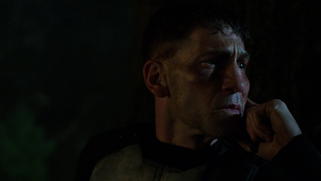 (25) The Punisher listens but doesn't respond