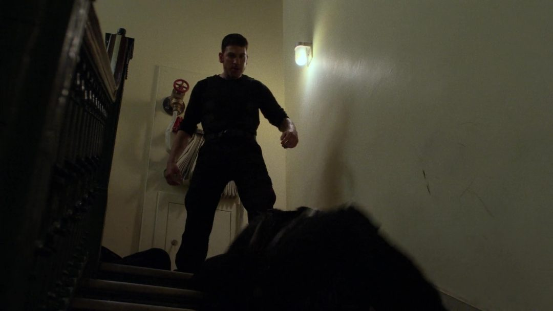 (27) The cops come in and The Punisher escapes
