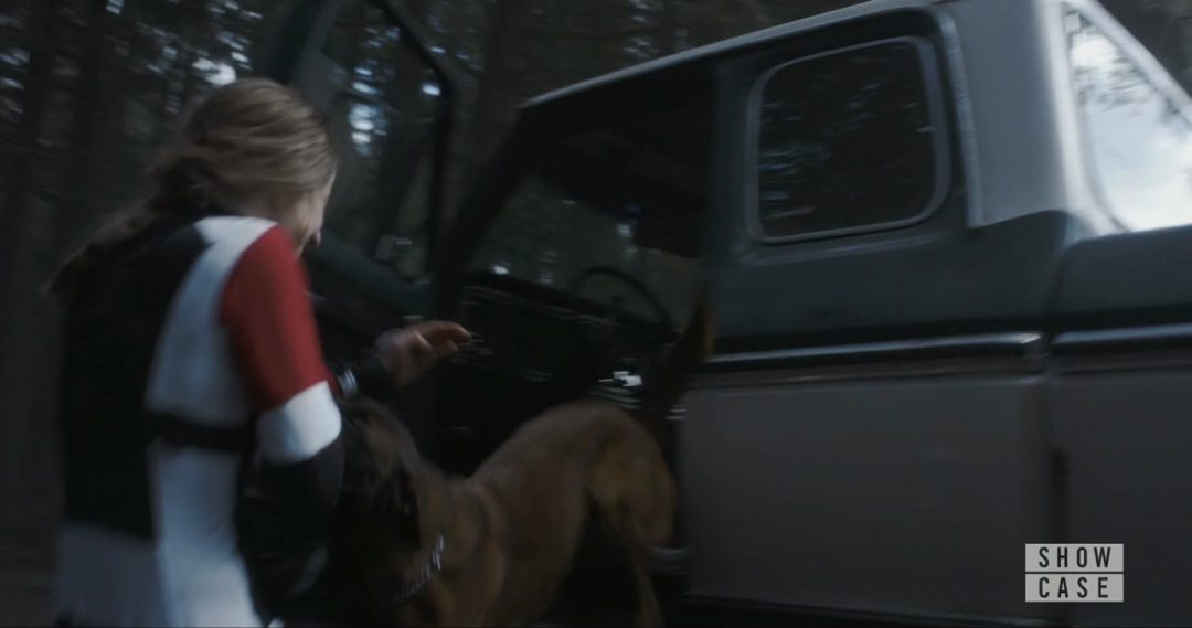 29 - Carrie 3.0 is defeated by a dog in the pickup truck. Whoops.