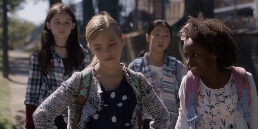 5 - Anna Hamilton walks to school