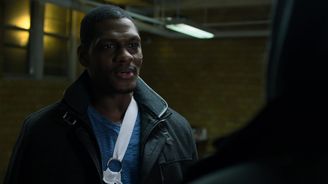 (51) Curtis greets The Punisher, at his group for the first time
