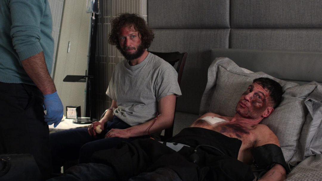 (7) David gave Frank blood and helped save him