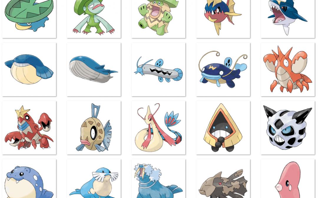 pokémon go update list of all 20 new gen 3 pokémon plus ar