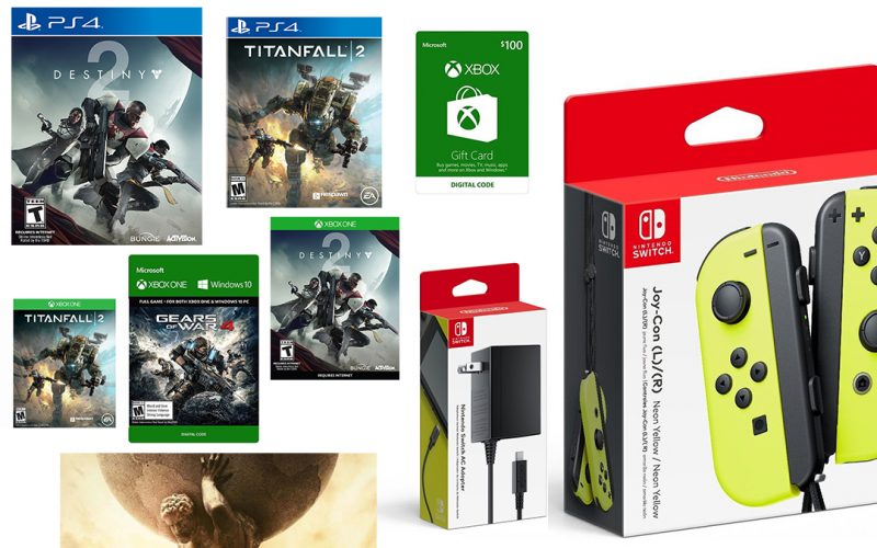 Video Game Deals of the Day: Destiny 2, Nintendo Switch Joy-cons