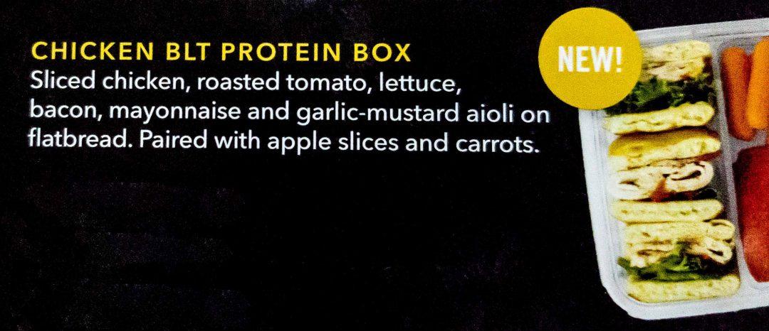 11 - Starbucks Chicken BLT Protein Box arrives
