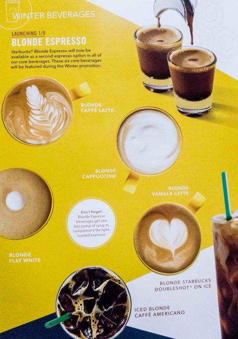 5 - Tim to re-try every beverage with Starbucks Blonde Espresso