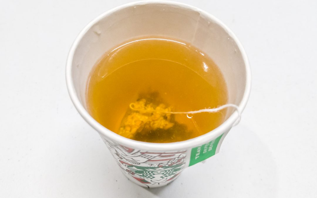 Starbucks Teavana Defense Wellness Brewed Tea Review: A Super-light White Tea With Cinnamon and Lemongrass